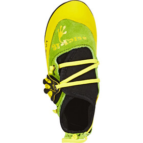 La Sportiva Stickit Climbing Shoes Kids lime/yellow